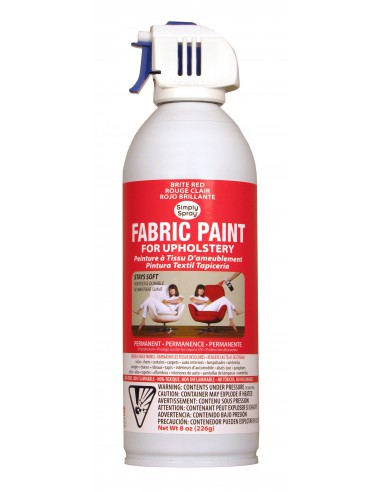 Upholstery Spray Paint Bright Red...