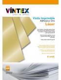 Vinilo Adhesivo Imprimible Oro - Impresora Láser
