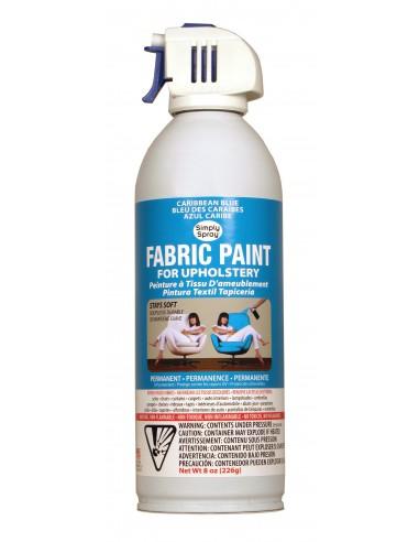 Upholstery Spray Paint Caribbean Blue...