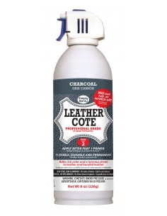 Leather Spray Paint Charcoal Grey para cuero y piel (Gris Carbón)