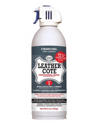 Leather Spray Paint Charcoal Grey para cuero y piel (Gris Carbón)