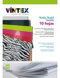 Vinilo Textil Surtido 10 hojas A4 VINTEX