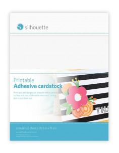 Cartulina Adhesiva Imprimible Inkjet y Láser Silhouette