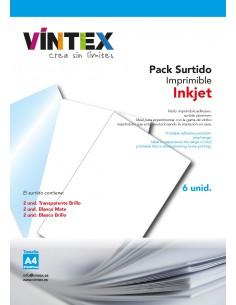 Vinilo Adhesivo Imprimible Surtido - Impresora Tinta