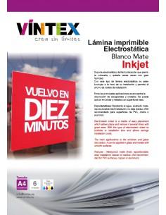 Lámina electrostática imprimible VINTEX