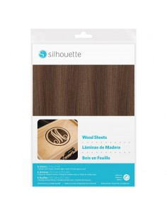 Papel Madera Silhouette