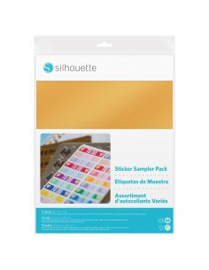 Sticker sampler pack (etiquetas de muestra) Silhouette
