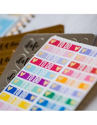 Sticker sampler pack (etiquetas de muestra) - Silhouette