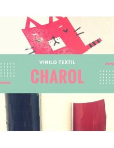 Vinilo textil de charol con efecto brillante VINTEX