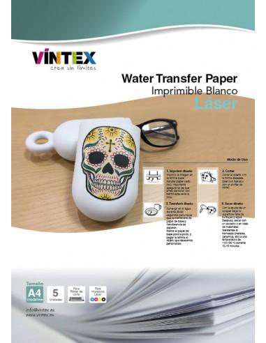 Water Transfer Paper - Láser