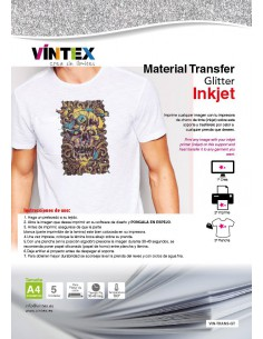 "Transfer ""purpurina"" Inkjet"