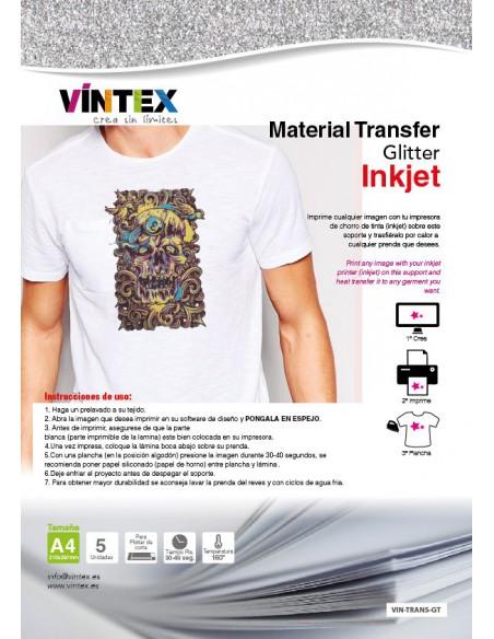 "Transfer ""purpurina"" Inkjet"