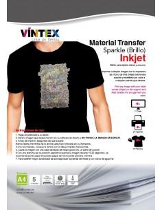 "Transfer Textil ""Sparkle"" Brillo Inkjet VINTEX"