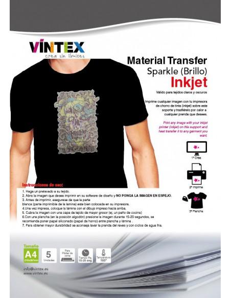 "Transfer ""Sparkle"" Inkjet"