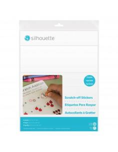 Hojas Adhesivas de Rasca Imprimibles Silhouette