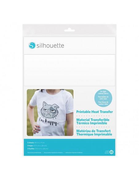 Transfer imprimible tejidos claros