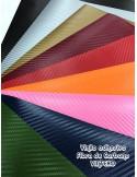 Vinilo adhesivo - 3D - textura FIBRA DE CARBONO