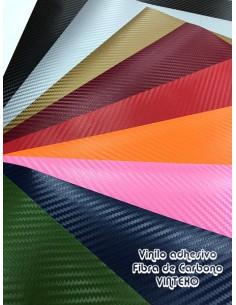 Vinilo adhesivo fibra de carbono VINTEX