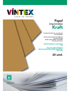 Papel Kraft imprimible VINTEX