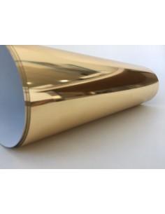 Vinilo textil efecto Oro Espejo