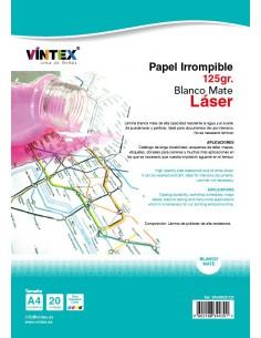 Papel irrompible para impresora láser VINTEX