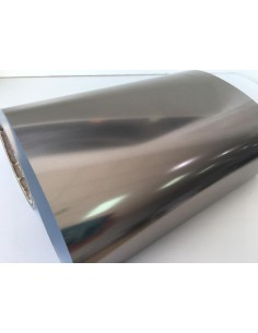 Vinilo textil efecto Zinc espejo