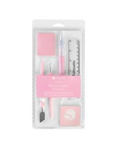 Kit de herramientas Pink Edition Silhouette