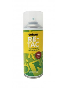 Adhesivo reposicionable en Spray Ghiant