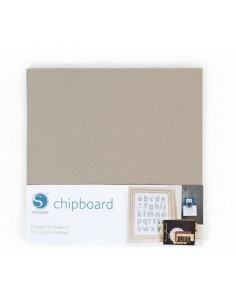 Chipboard Silhouette Pack 25 hojas