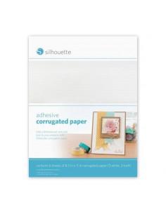 Papel Corrugado Adhesivo Silhouette