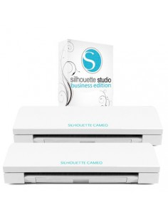 "Pack ""2 plotters Nueva Silhouette Cameo 3 + Studio Business Edition"""