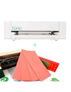 "Pack ""Silhouette Curio + Material para Sellos Vintex"""