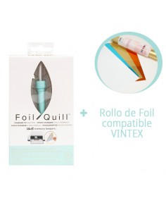 Foil Quill Standard Tip We R Memory Keepers + Rollo foil VINTEX