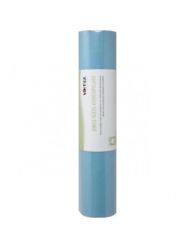 Vinilo textil aterciopelado - Azul Claro