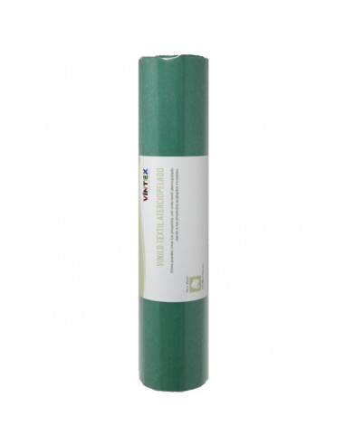 Vinilo textil aterciopelado - Verde