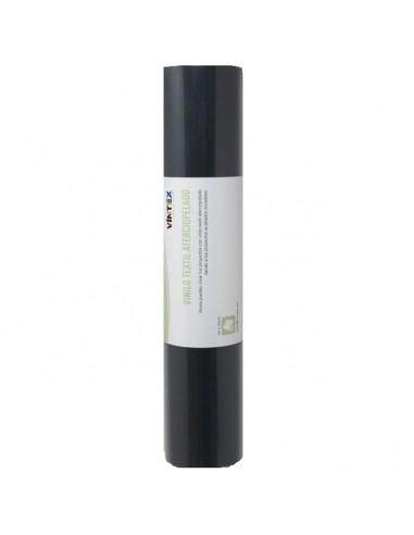 Vinilo textil aterciopelado - Negro