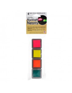 Almohadillas de tinta para sellos ColorBox Blacklight