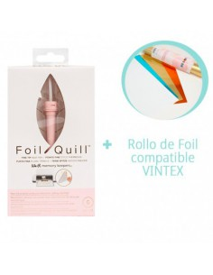 PREVENTA-Foil Quill Fine Tip We R Memory Keepers + Rollo Foil VINTEX