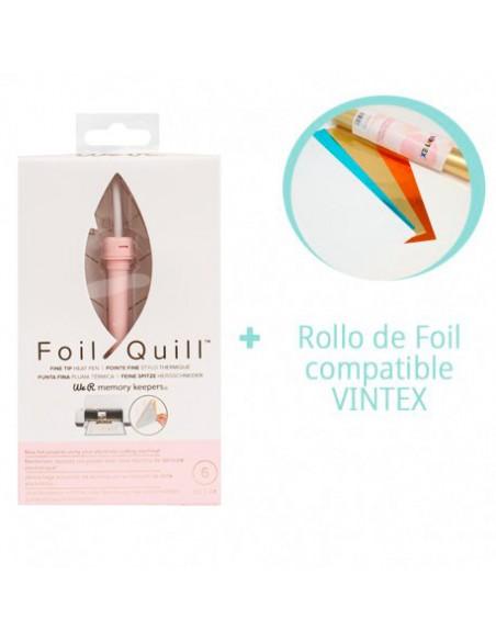 PREVENTA-Foil Quill Fine Tip We R Memory Keepers + Rollo Foil VINTEX