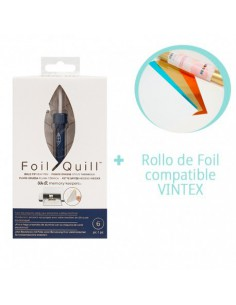 Foil Quill Bold Tip We R Memory Keepers + Rollo Foil VINTEX