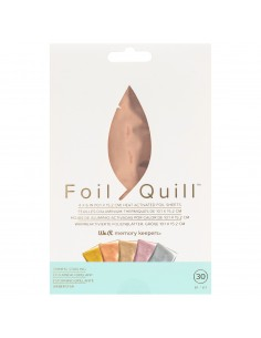 Kit de foil Rose Gold Shining Starling para Foil Quill