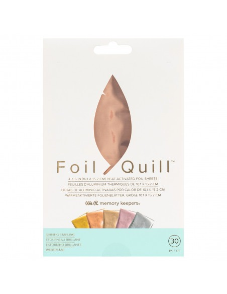 Kit de foil Rose Gold Shining Starling para Foil Quill