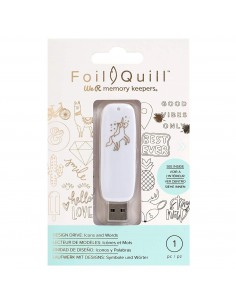Foil Quill USB Art Icons We R Memory Keepers