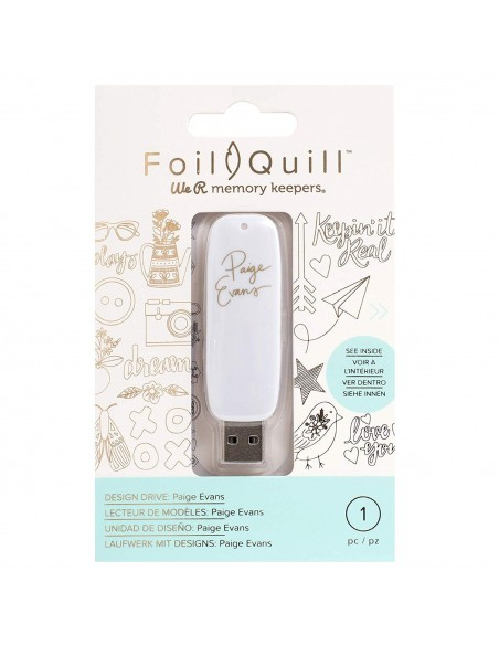 Foil Quill USB Art Paige Evans