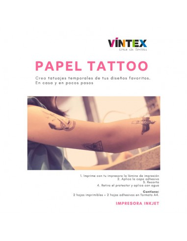 Papel tattoo VINTEX