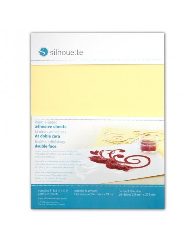 Adhesivo doble cara Silhouette