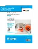 Vinilo Adhesivo Imprimible Blanco Mate Inkjet VINTEX (formato profesional)