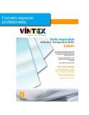 Vinilo Adhesivo Imprimible Transparente Brillo láser (formato profesional)