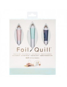 Foil Quill Kit Freestyle We R Memory Keepers + REGALO Foil VINTEX