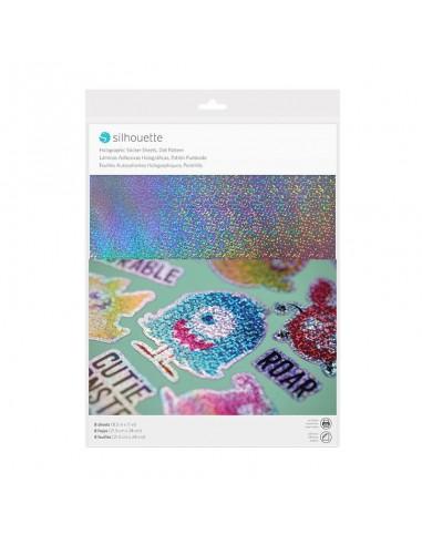 Sticker Paper punteado holográfico Silhouette (PRÓXIMAMENTE A LA VENTA)